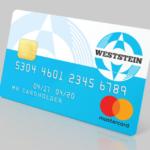Weststein: Neue Mastercard mit Konto.