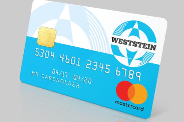 Weststein Prepaid Mastercard