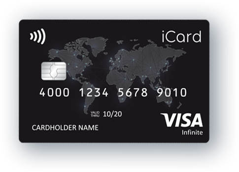 icard Visa infinite